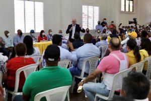 Francisco Domínguez Brito recibe apoyo dirigentes PLD Línea Noroeste