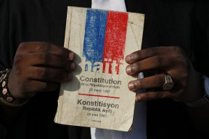 Inician debates sobre proyecto de una nueva Constitución haitiana