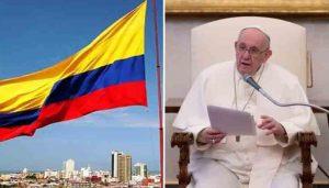 El papa muestra preocupación por enfrentamientos violentos Colombia