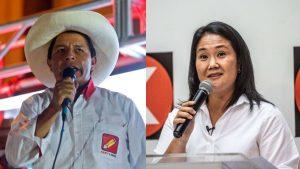 PERU: Pedro Castillo y Keiko Fujimori empatados para las presidenciales
