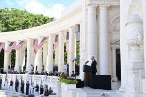 """Mensaje Biden por Memorial Day: """"La democracia mundial está en peligro"""""""