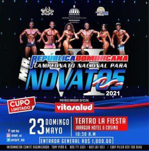Mr RD para novatos será celebrado en Santo Domingo el el 23 de mayo