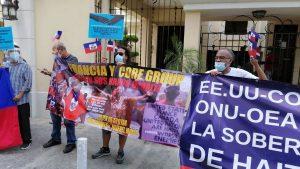 En el día de bandera de Haitì, exigen   respeto a la soberanía de este país