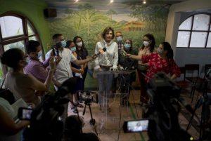 Managua: Chamorro señala violaciones en detención de sus excolaboradores
