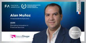 Banco Fihogar recibe galardón por innovación en el sector financiero
