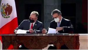 México y los Estados Unidos sellan un memorándum cooperación migratoria