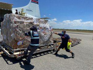 Aeropuerto Las Américas moviliza más de 15 millones libras de carga en mayo