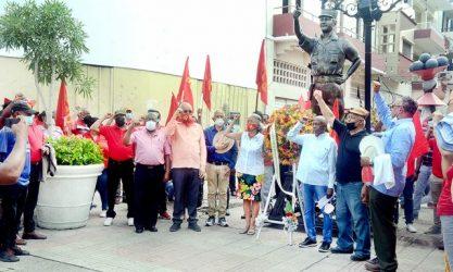El PCT celebra el 41 aniversario de su fundación con varias actividades