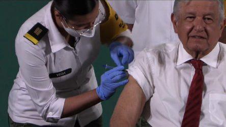 MEXICO: AMLO se pone segunda dosis COVID; insta a la población vacunarse