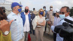 Una delegación de la UE visita Dajabón para ver trabajos RD en línea divisoria
