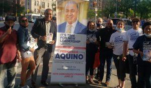 Aquino dice quiere representar en el Concejo a moradores West Bronx