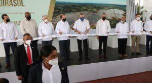 SC: El Presidente Abinader encabeza inauguración de parque solar Girasol
