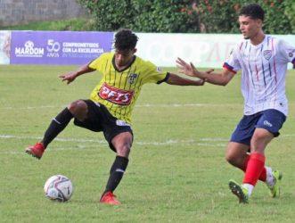 Delfines sorprenden a Moca FC en la segunda jornada de la LDF 2021