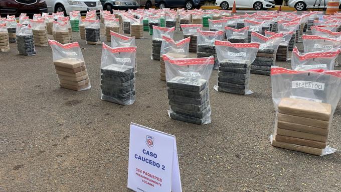 La DNCD ocupa 862 paquetes cocaína en el Puerto Multimodal Caucedo