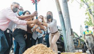 Barrio capitaleño de Gazcue tendrá nuevas aceras, contenes y rampas