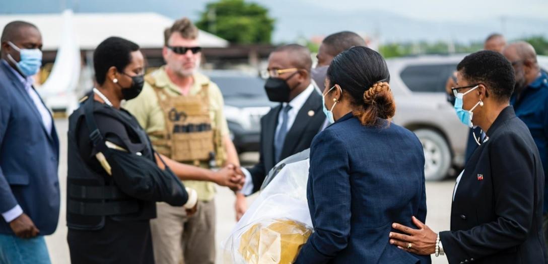 HAITI: Retornó este sábado en la tarde la exprimera dama Martine Moise
