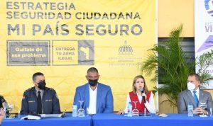 Fiscal del DN y Director PN ven delitos y violencia bajan un 50% en Cristo Rey