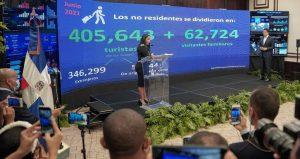 Por primera vez después de pandemia, RD rebasa barrera 400,000 visitantes