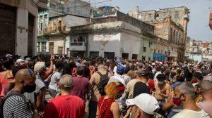 Estados Unidos condena primeras sentencias por las protestas en Cuba