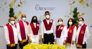 UNEV inviste a mil 289 nuevos profesionales en graduación virtual