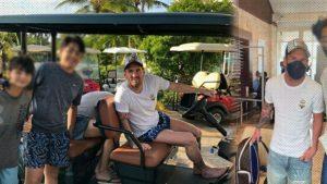 Astro del fútbol Lionel Messi está de vacaciones en República Dominicana