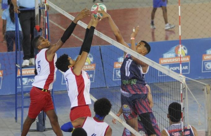 Santiago vence al Distrito Nacional en el Torneo Infantil de Voleibol Masculino