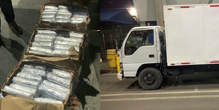 La DNCD ocupa cien paquetes de cocaína en el puerto de Haina Oriental