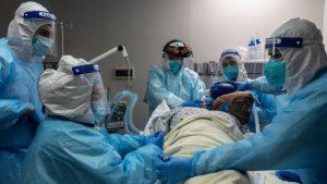 EE.UU.: Hospitales se quedan sin camas para pacientes de Covid
