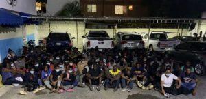 Armada apresa 97 haitianos y dos  dominicanos se iban en yola a PR