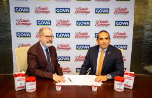 INDUBAN firma acuerdo con Goya Foods para distribuir marcas en EEUU