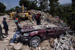 HAITI: Rescatadas 24 personas con vida a una semana terremoto