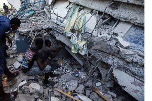 Haití detiene la búsqueda de sobrevivientes del terremoto