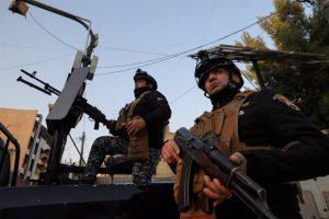 IRAK: Mueren al menos 12 policías en atentados del Estado Islámico