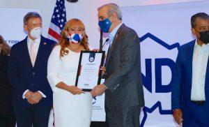 Dominicana agradece a Abinader haber reconocido su trayectoria