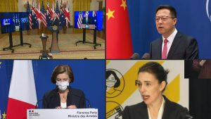 Alianza EU-Gran Bretaña Australia enfurece a la Unión Europea