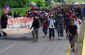 MEXICO: Haitianos tratarán entrar por la fuerza a los Estados Unidos