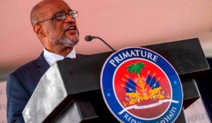 Primer ministro de Haití llamó a la paz y reconciliación
