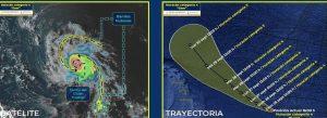 «Sam» se convirtió en huracán categoría 4, convientos 220 km/h