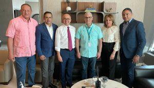 Domínguez Brito visitó Gonzalo junto a otros Comité Político