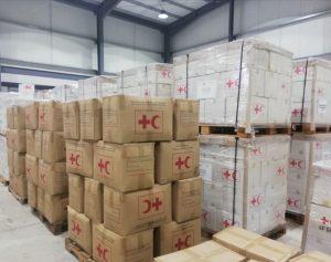 Cruz Roja envía otro cargamento de ayuda humanitaria a Haití