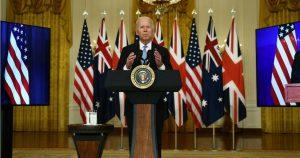 Pacto de EE.UU, Reino Unido y Australia contra el poder chino