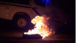 PUERTO PLATA: Hubo protestas callejeras por los largos apagones
