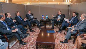 Presidente Abinader se reúne con  homólogos Guatemala y Ecuador