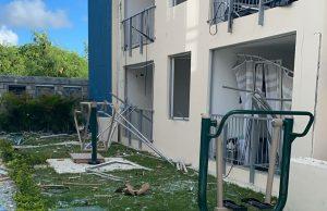 Un muerto y tres heridos por  explosión en apartamento Bávaro