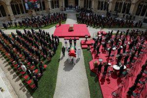 Portugal despide con funeral de Estado al expresidente Sampaio