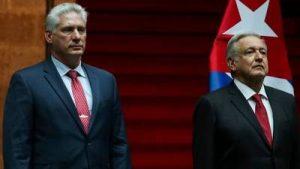 MEXICO: Díaz-Canel llega para celebración de la independencia