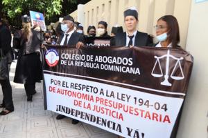 Colegio de Abogados reclama el 4.10% presupuesto para la justicia
