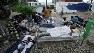 Protección Civil de Haití centraliza entrega de ayuda a damnificados