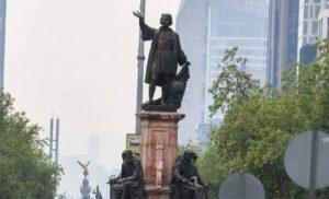MEXICO: Retiran estatua de Colón para sustituirla por mujer olmeca