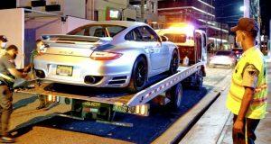 DIGESETT retiene 28 vehículos de «alta gama» en operativo SD